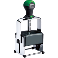 Shiny HM-6007 Heavy<BR>Metal Self-Inking Stamp