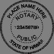 HI-NOT-SEAL - Hawaii Notary Seal