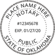 OK-NOT-SEAL - Oklahoma Notary Seal