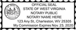 WV-NOT-1 - West Virginia Notary Stamp Personal